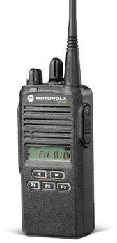 CommUSA Motorola CP185 Portable Two-Way Radio