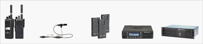 Two Way radio products available for rentals